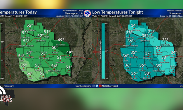 Warmer temperatures, wind from the west and a chilly evening ahead