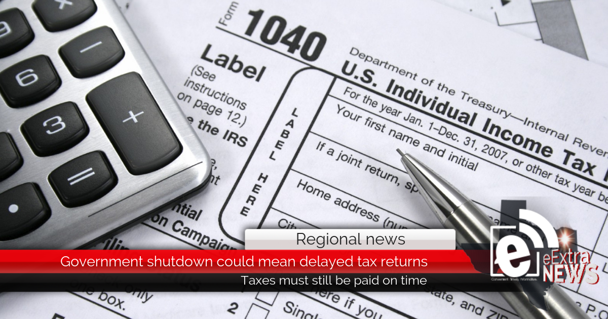 Government shutdown could mean delayed tax returns