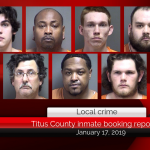 Titus County inmate booking report || January 17, 2019