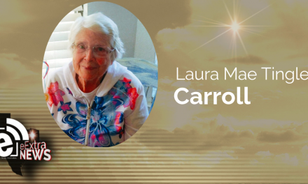 Laura Mae Tingle Carroll of Hopewell, Texas