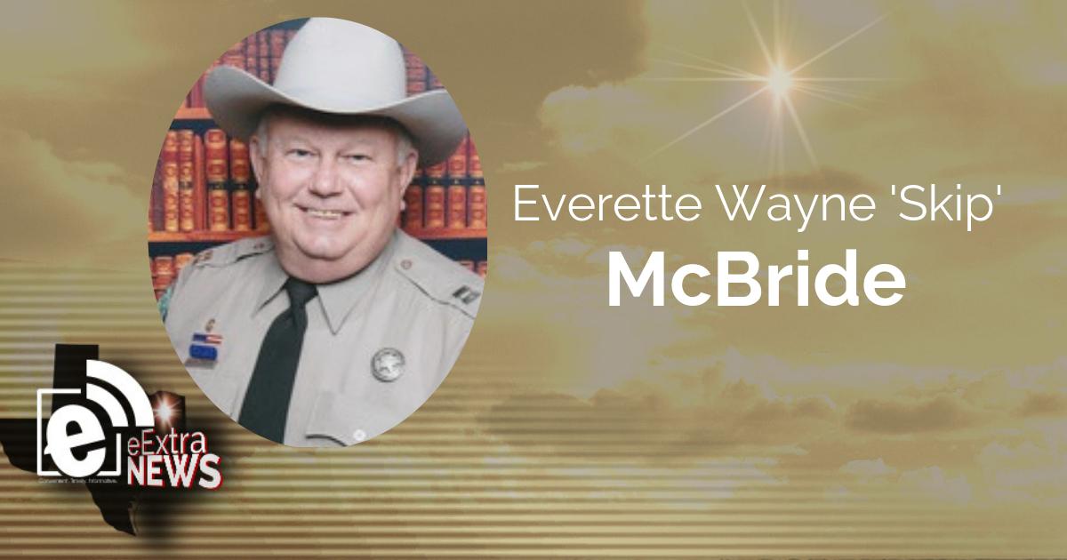 Everette Wayne 'Skip' McBride of Mt. Pleasant