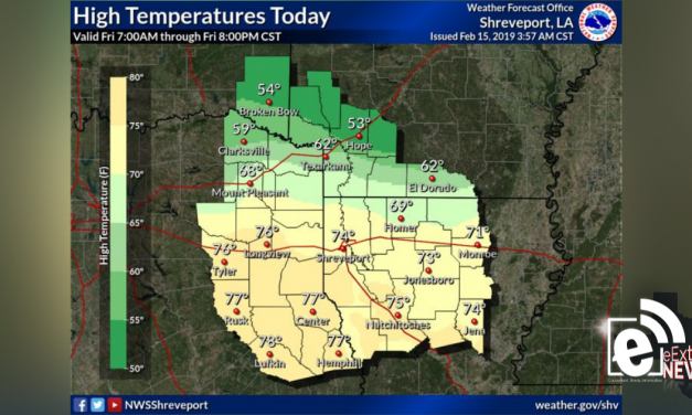 High temperatures close to 70 degrees today || Weather outlook