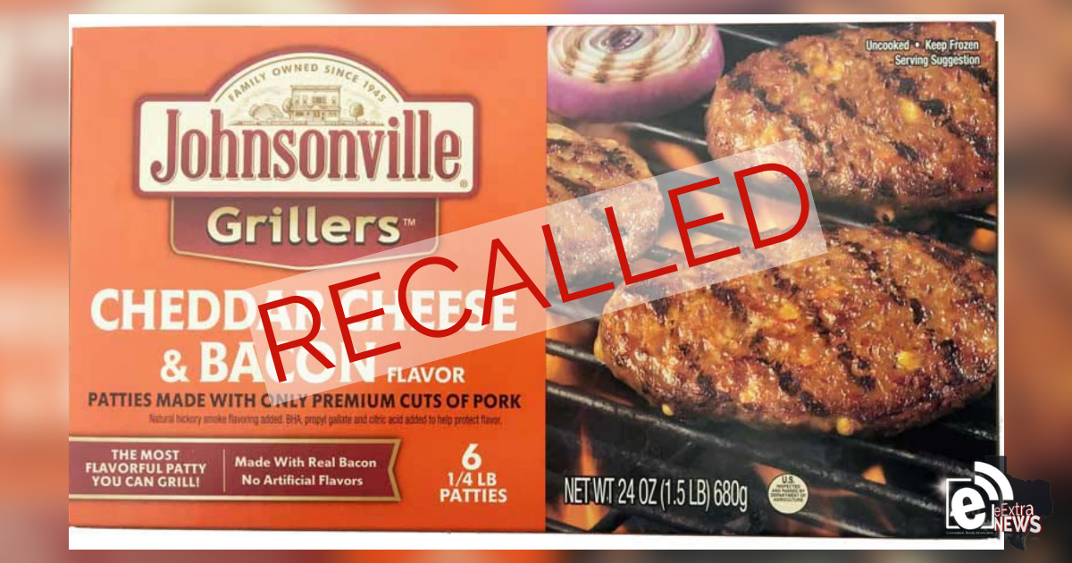 Johnsonville recalls more than 45,000 pounds of raw ground pork patty products