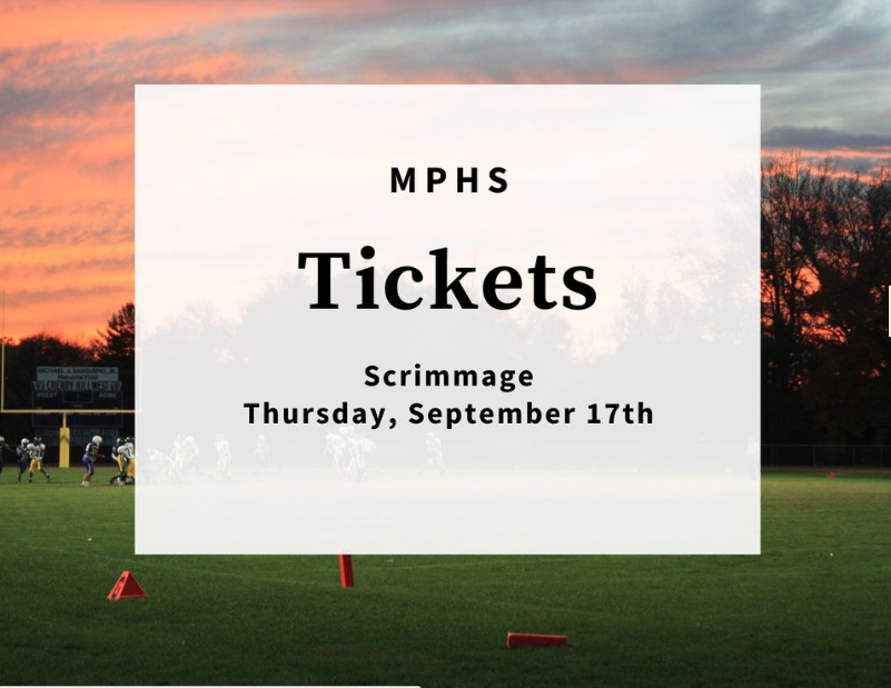 Mpisd Football Tickets Online Only For Sept 17